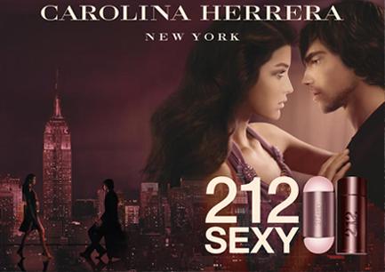 Carolina Herrera 212 Sexy Woman